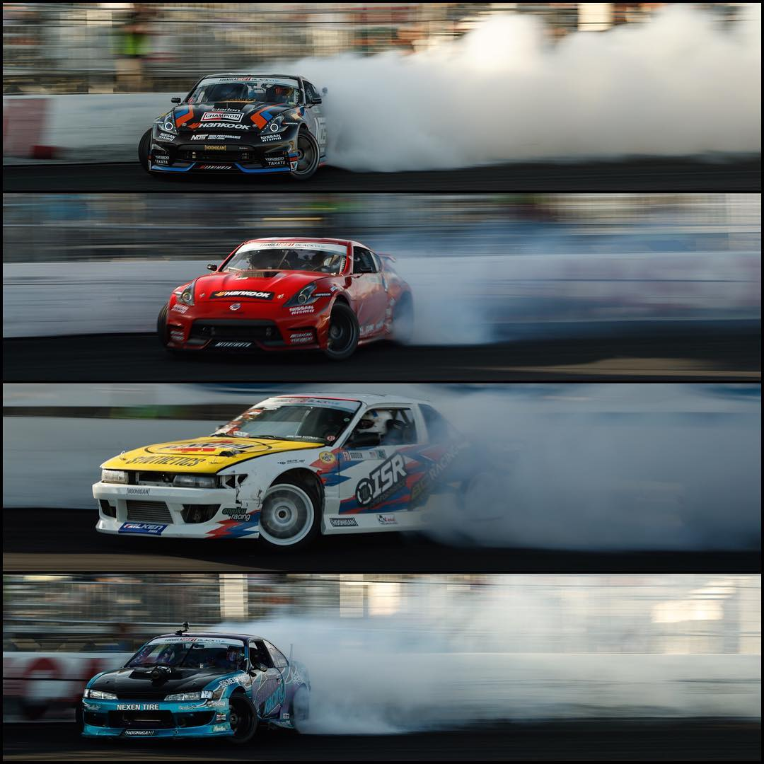 PRO 1 SQUAD! @formulad Irwindale finals go down tonight! If you're in SoCal, battle that traffic and get on down here. #fdirw #killalltires fotos by @larry_chen_foto