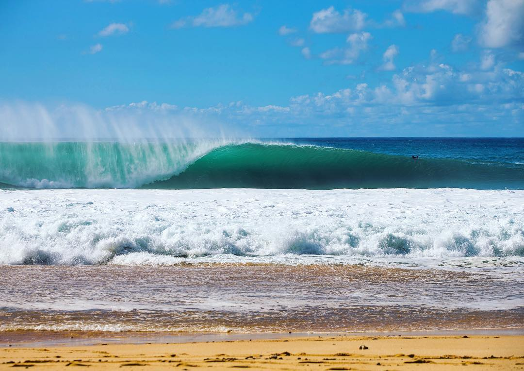 Opening day at #pipeline