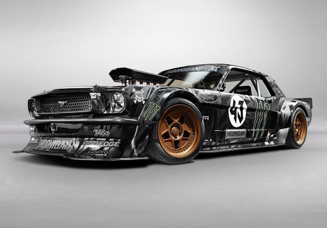Flashback to my favorite @Tony_Harmer studio shot of my Ford Mustang Hoonicorn RTR. I seriously love this car - the way it sounds, the way it drives, and the way it destroys tires. There isn't much to improve on it. Or is there??? #forcedimprovements...