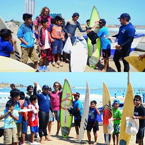 WE ❤️ SURFING | Getting the local kids of Lobitos to join in the fun!