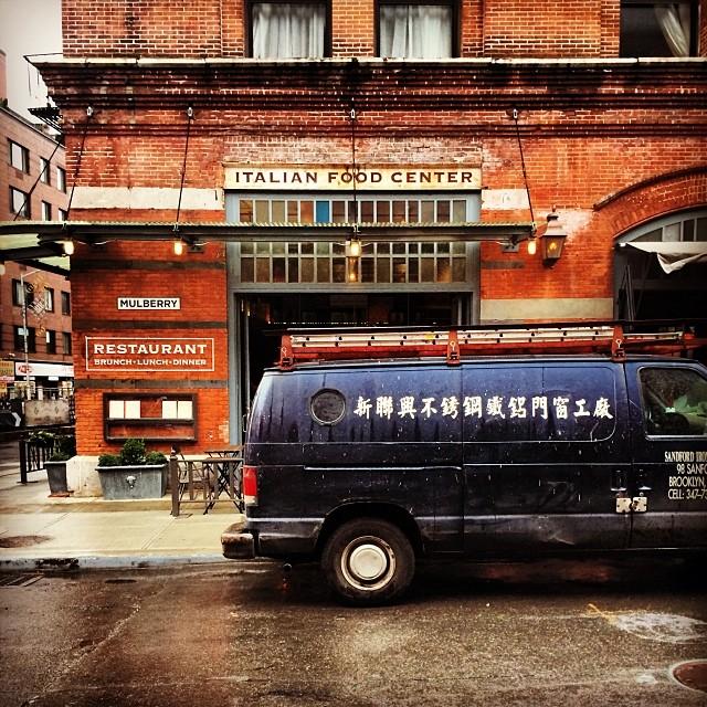 Italian. #nyc #italianfood #asianvans #soho #mullberryst #ambrosia #rainydays #newyork