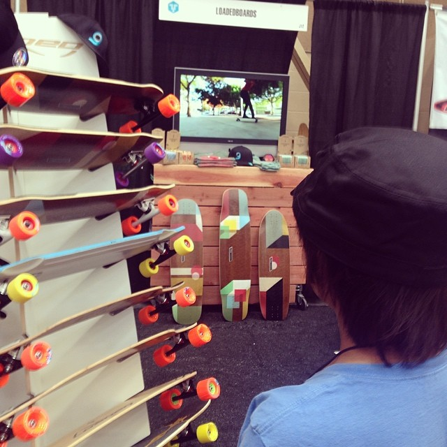 Memorized at the #LoadedBoards booth at the #BoardRoom