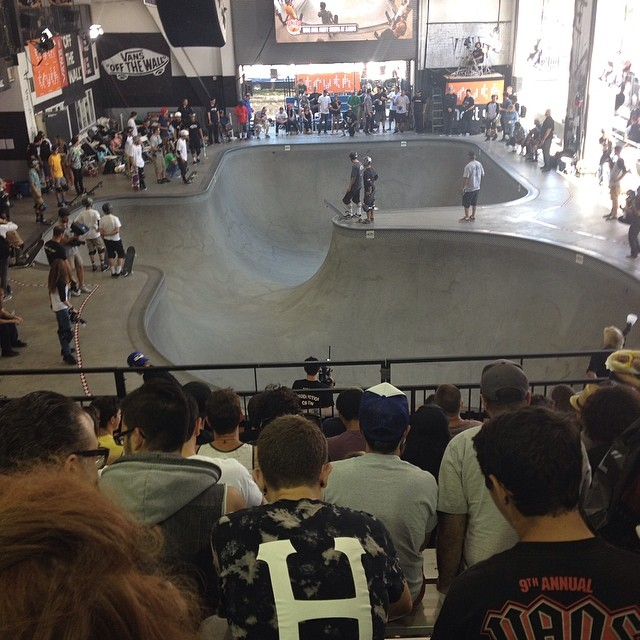 And here we are. #vanspoolparty #skate #skateboarding #skateboard #vans #vansskate