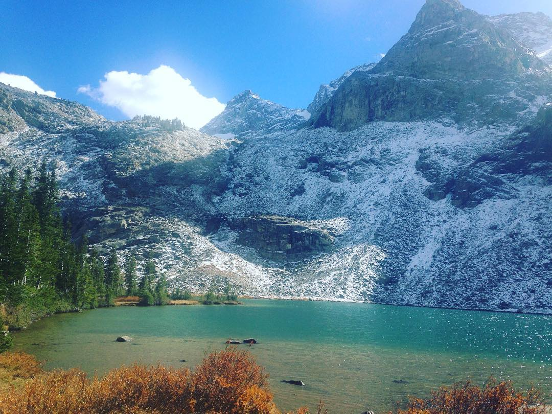 One of our team members made it up to Kane Lake yesterday. Where did you wander this past weekend?