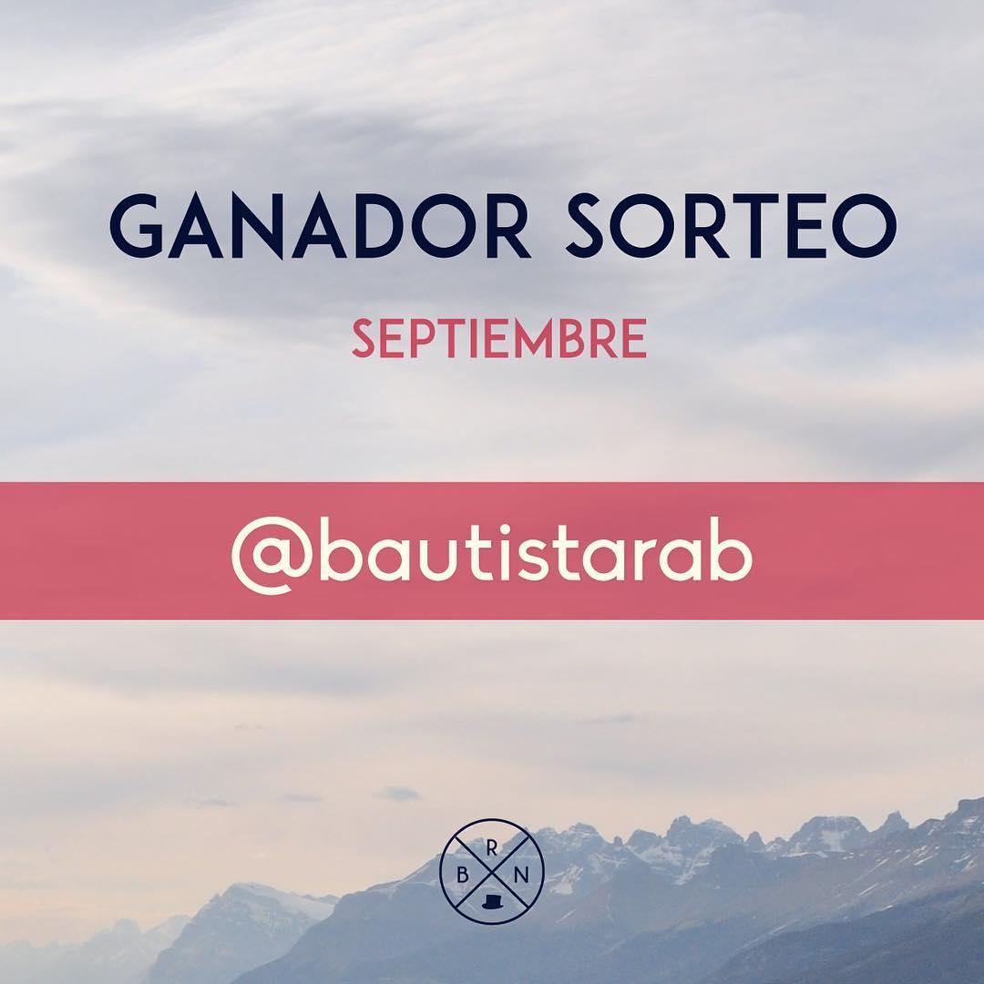 Felicitaciones @baustistarab ! Sos el ganador del Sorteo de Septiembre!