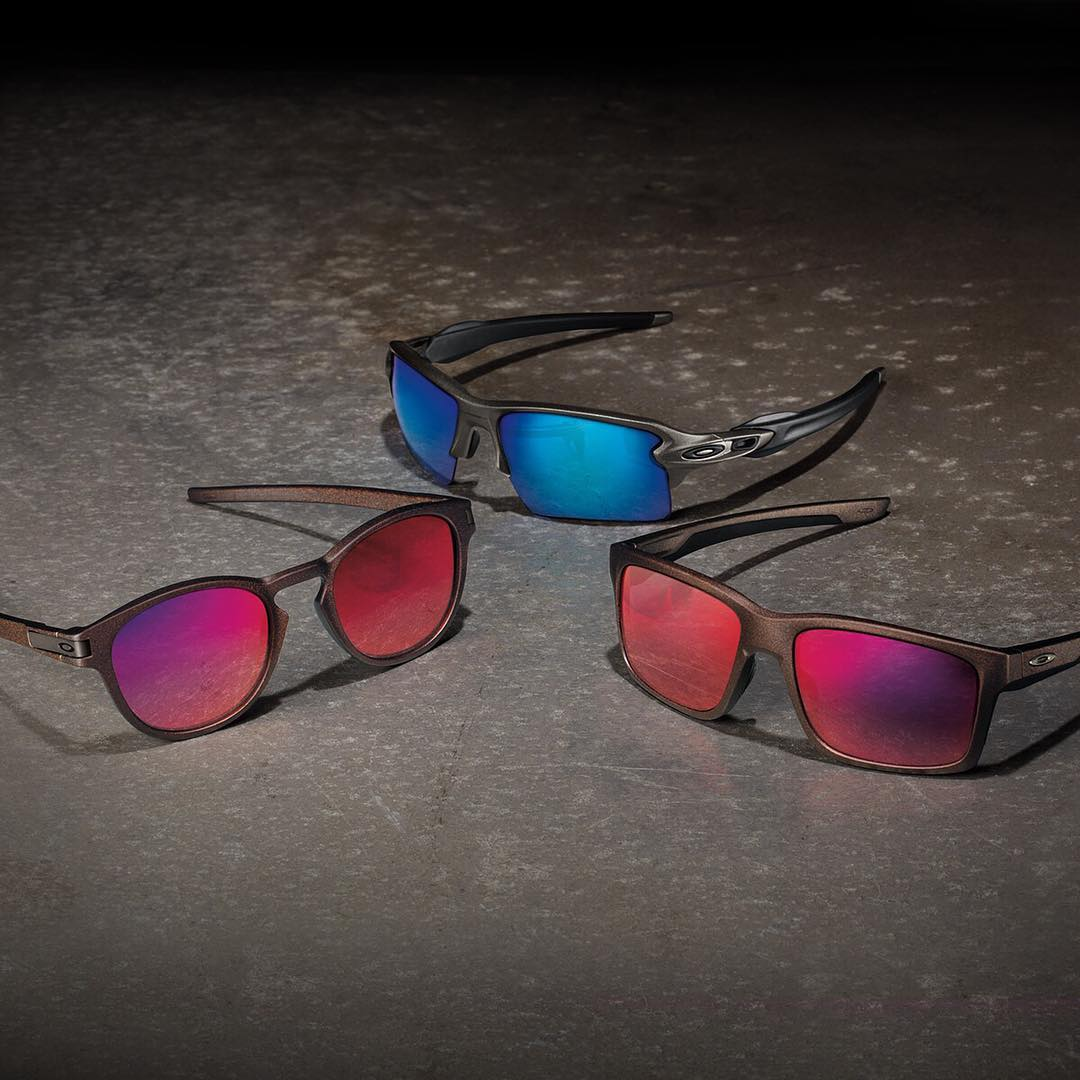 Oakley Metals Collection. Metal Hues. Elemental Style.  #OakleyFlak2 #OakleyLatch #OakleyMainlink