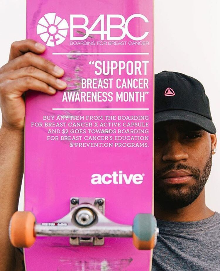 We're stoked to be teaming up with @activerideshop again this October! Buy any B4BC x Active item and $2 will be donated towards our $20k goal!