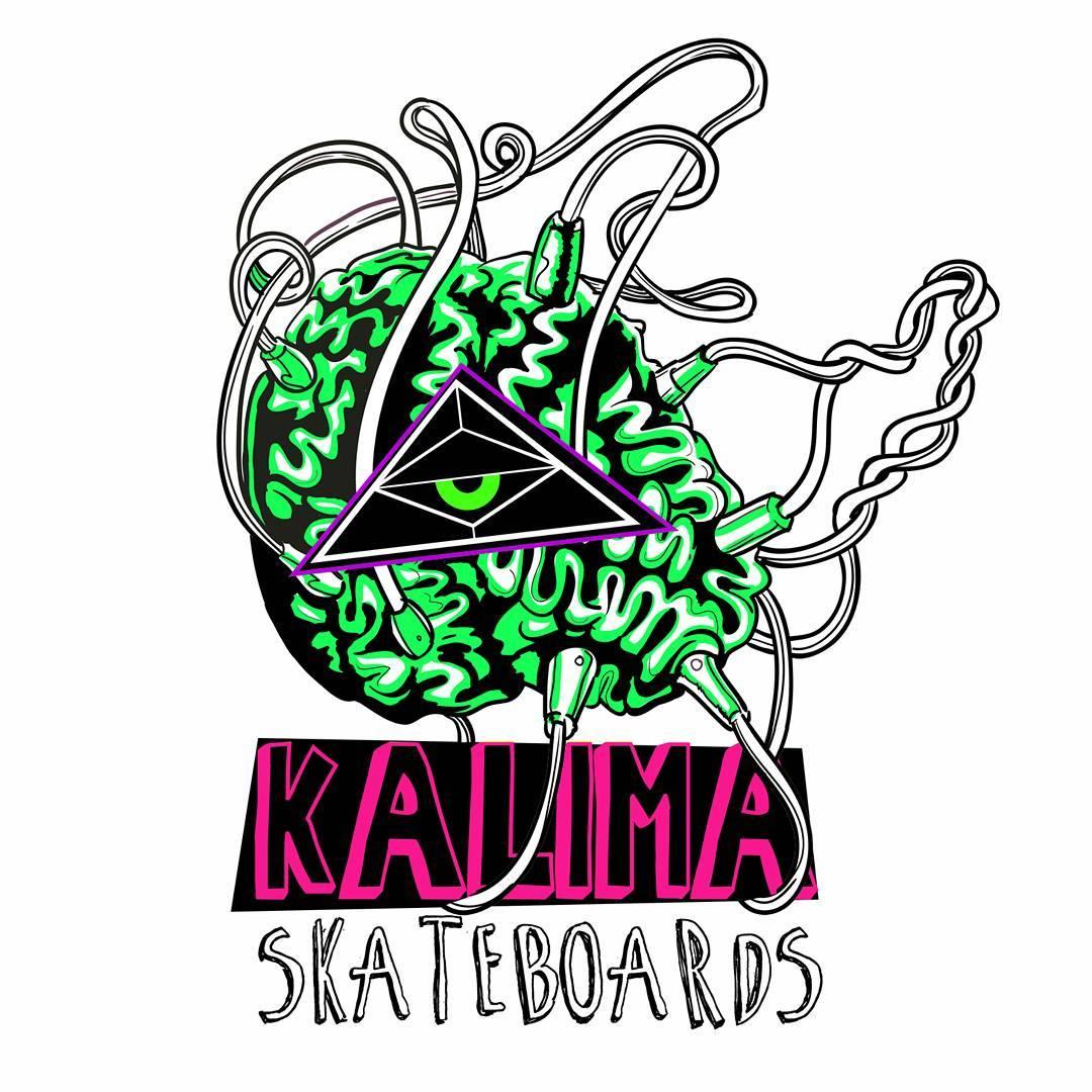 Kalima Skateboards #skatelife #urbanart  #kalimaart