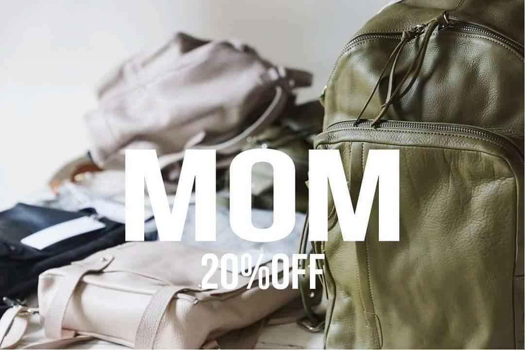 Toda esta semana festejamos el día de la madre con 20% off en nuestros showrooms de Martinez y Palermo.