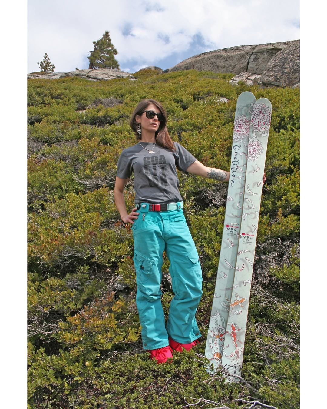 Our SOS all mountain ski is the catz pajamaz; our best selling ski with the most verstatility. These sticks get you there with confidence! @c_ros