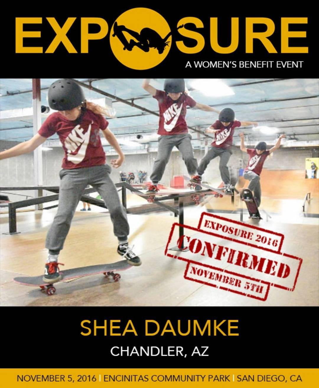 @shea_d_skater is a lil ripper and we can't wait to see what she'll bring to the 14 & Under Street competition! !