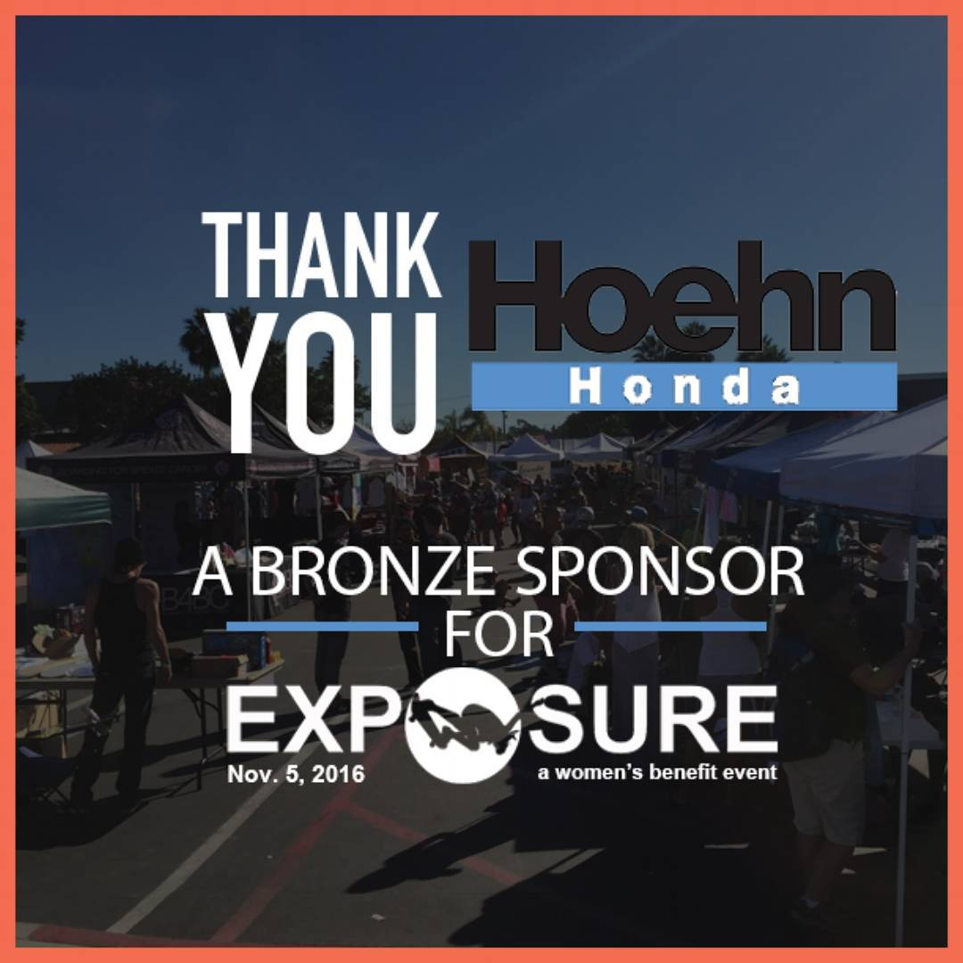 "Thank You @hoehnmotors for being a bronze sponsor for #exposure2016! Hoehn Motors strives to ""inspire those who love the power of challenge and the joy of pushing the boundaries,"" perfect for our event! Check out @hoehnadventures to see amazing feats..."