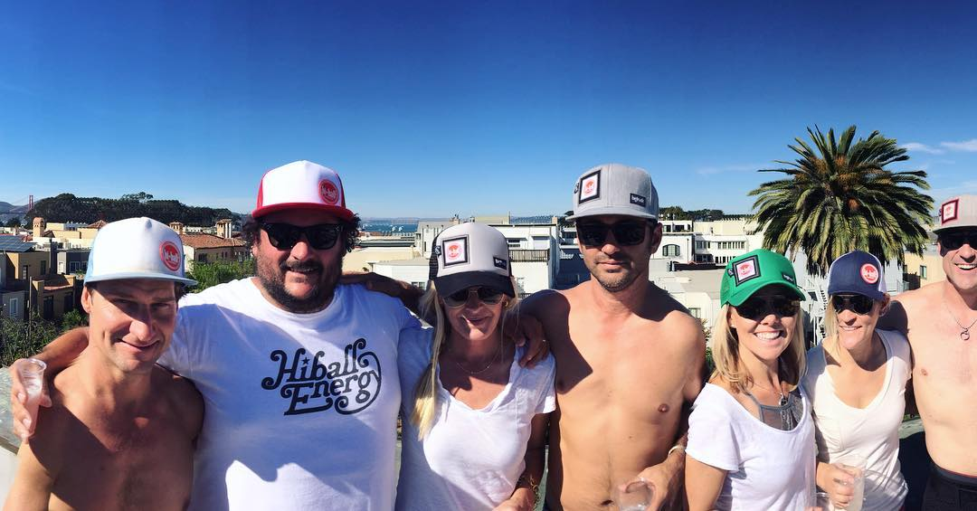 #TBT to #BlueAngels rooftop stoke in #SanFrancisco last weekend with these Ballers!! Get your HiBall hat at hiballenergy.com - and for a limited time, proceeds will benefit the @hi5sfoundation!  @hiballenergy #hiballenergy #itsallgood @bigtruckbrand...