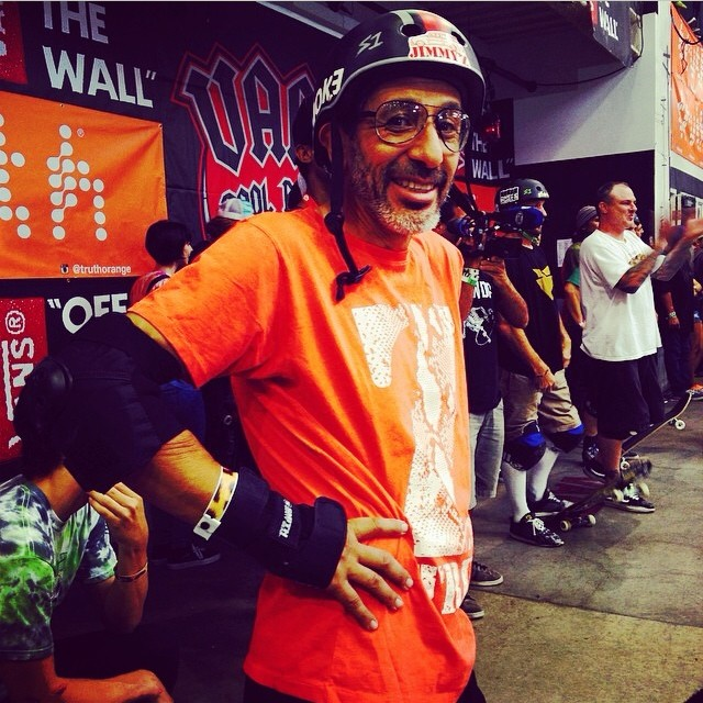 Regram @jimmyz  @eddieelguera ripping the #legends final at the #vanspoolparty #style