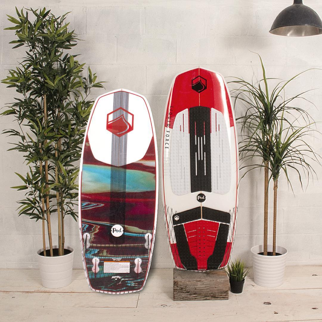 The POD - Full diamond shape allows you to ride a shorter more maneuverable board. Featuring Innegra and Vector Net reinforcement for an ultra light, durable ride.  With a quad carbon fin set up, this board will let you fly on and above the water. ...