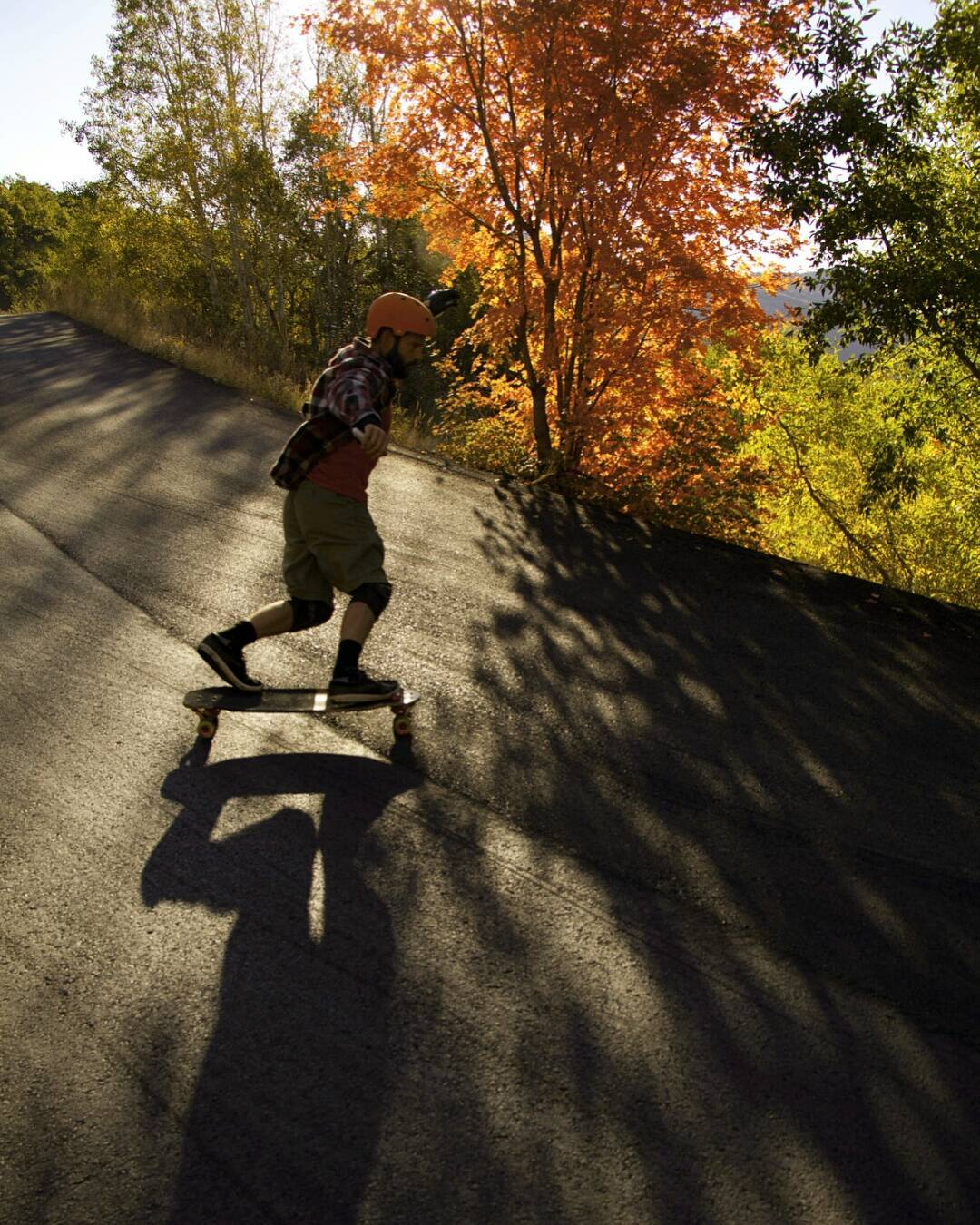 #LoadedAmbassador @rileywirvine heads to the lower lands of Utah to escape the coming winter. On his descent, he takes a minute to slow down and enjoy the colorful foliage that reminds him of his strong addiction to Pumpkin Spice Lattes.  Photo:...