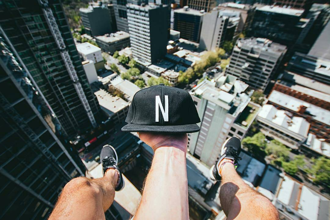 Sin mirar abajo.  #ForeverFun #Neff | Photo: @jwestie #neffargentina