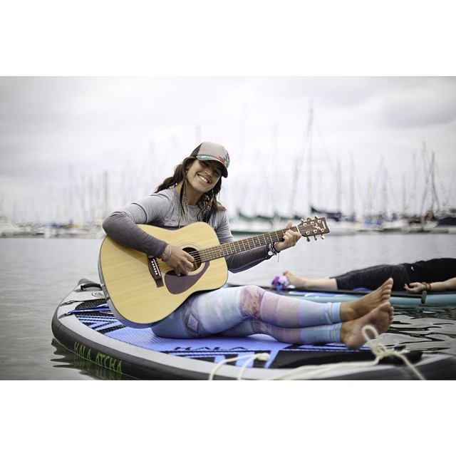 "Natalli Zollinger of Moab, Utah, and owner of @nautilussup is Is certified RYT-200 by the Yoga Alliance, Level 2 ACA SUP Instructor, Ambassador to Paddle Into Fitness and Team Rider for Hala Gear. ""Being a waterwoman is about learning to live like the..."