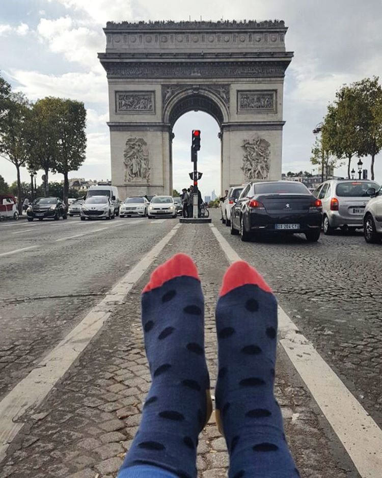 Miércoles de #viaje #francia #arco del #triunfo ✈️
