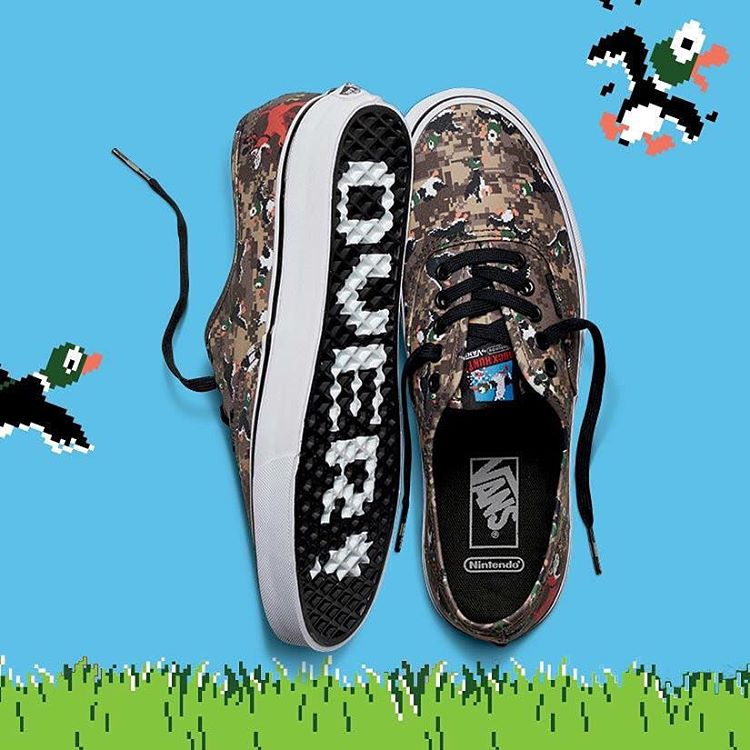 ¿Se acuerdan de Duck Hunt? Volvió, en estas Authentic #VANSxNintendo