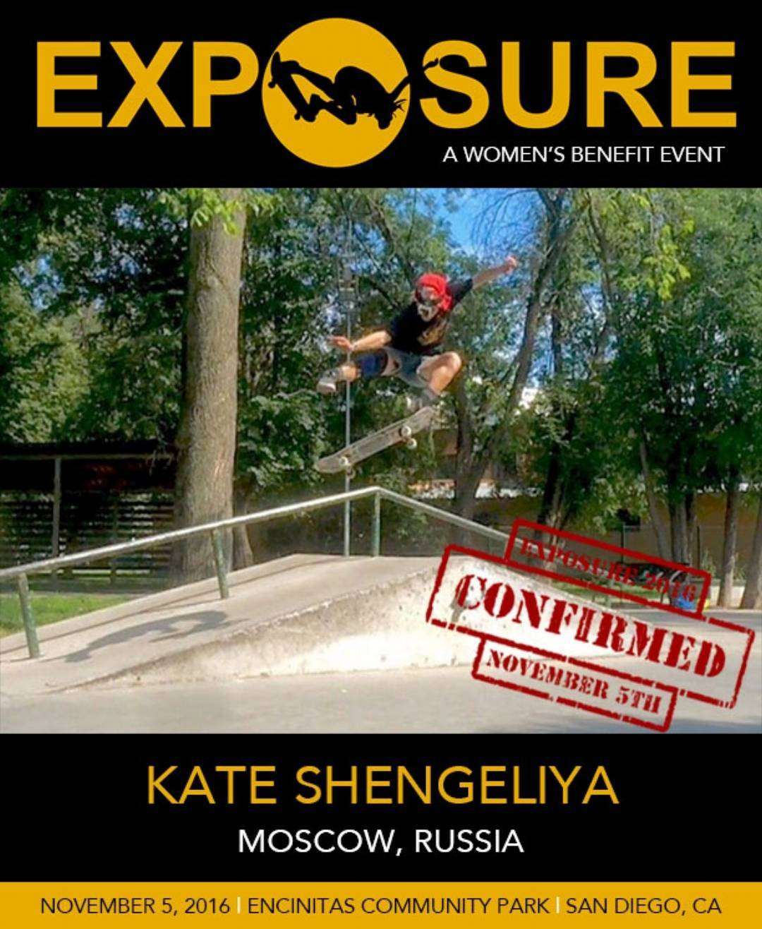 That's right! @kateshengeliya is coming from Russia to throw down in Pro Street division!!