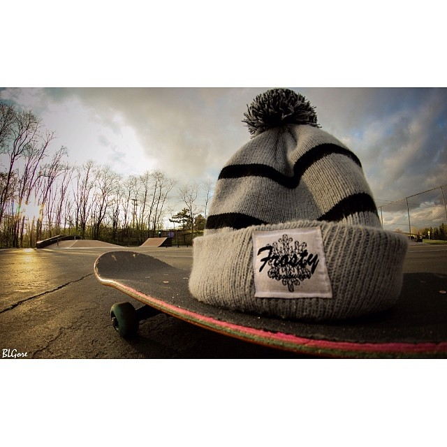 Beanie on sale through www.frostyheadwear.com❄️