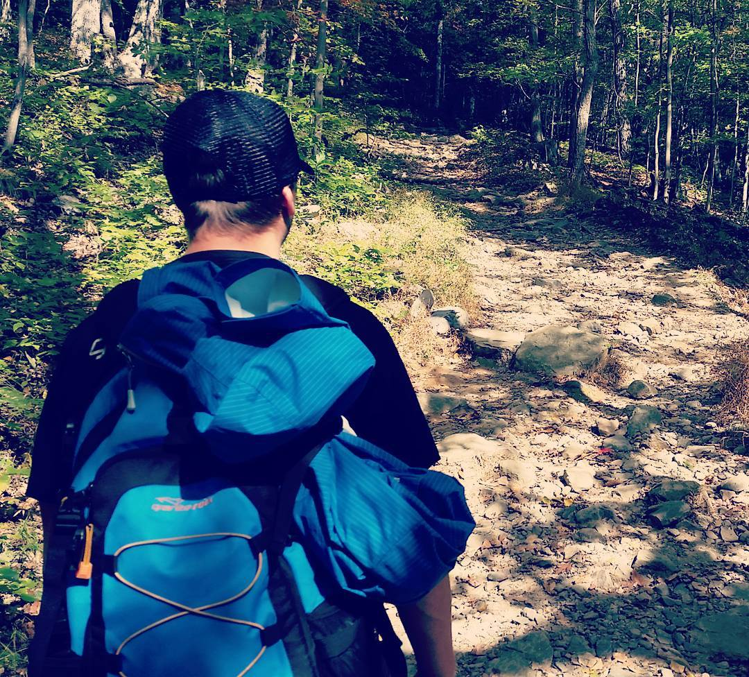 Short #hike on the Appalachian Trail in Worthington Forest. #getoutside #AT #hiking #graniterocx #backpacks #adventure #outdoorsrocx