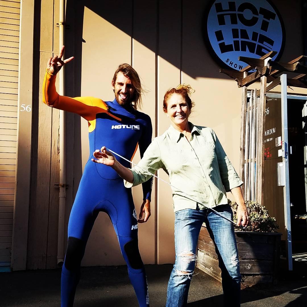 Brenda & Dylan checking in!!! #thelane #thepoint #santacruz #cali