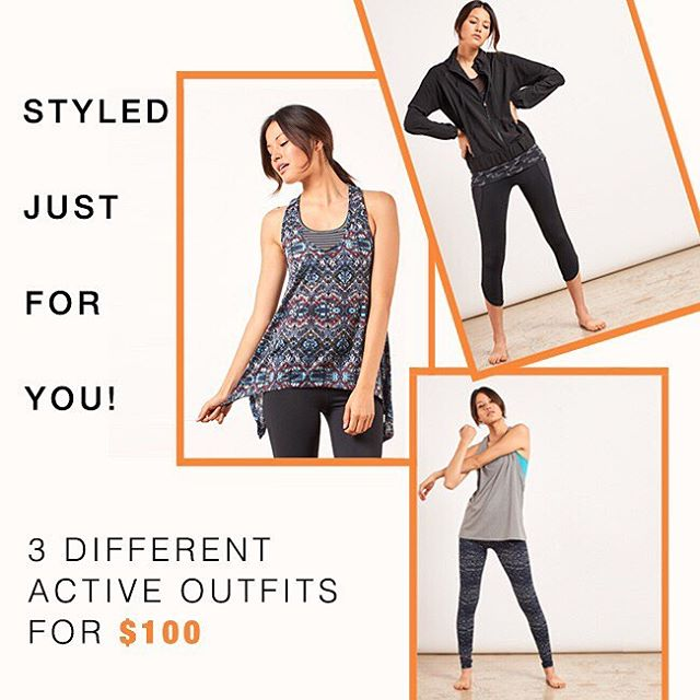Specially curated active outfits for every kind of attitude. Check out our new active bundles for $100! (Link in bio to shop) #active #workoutwednesday