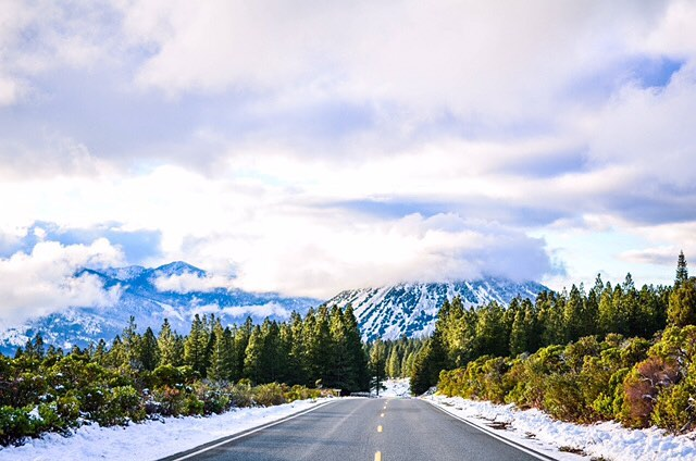Take the road less traveled. //
