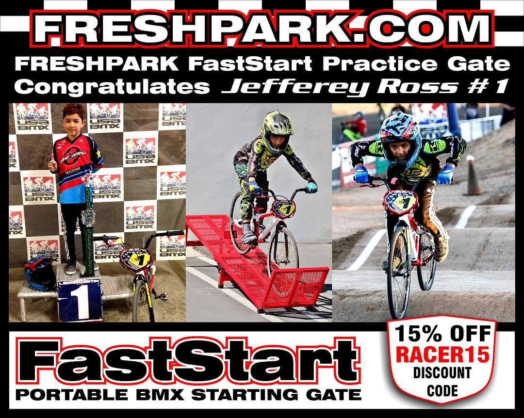 Get your Freshpark FastStart Starting Gate NOW!