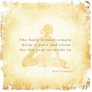 What are some things you do, to maintain health within your temple?  Share some daily maintenance tips for mind, body and soul.