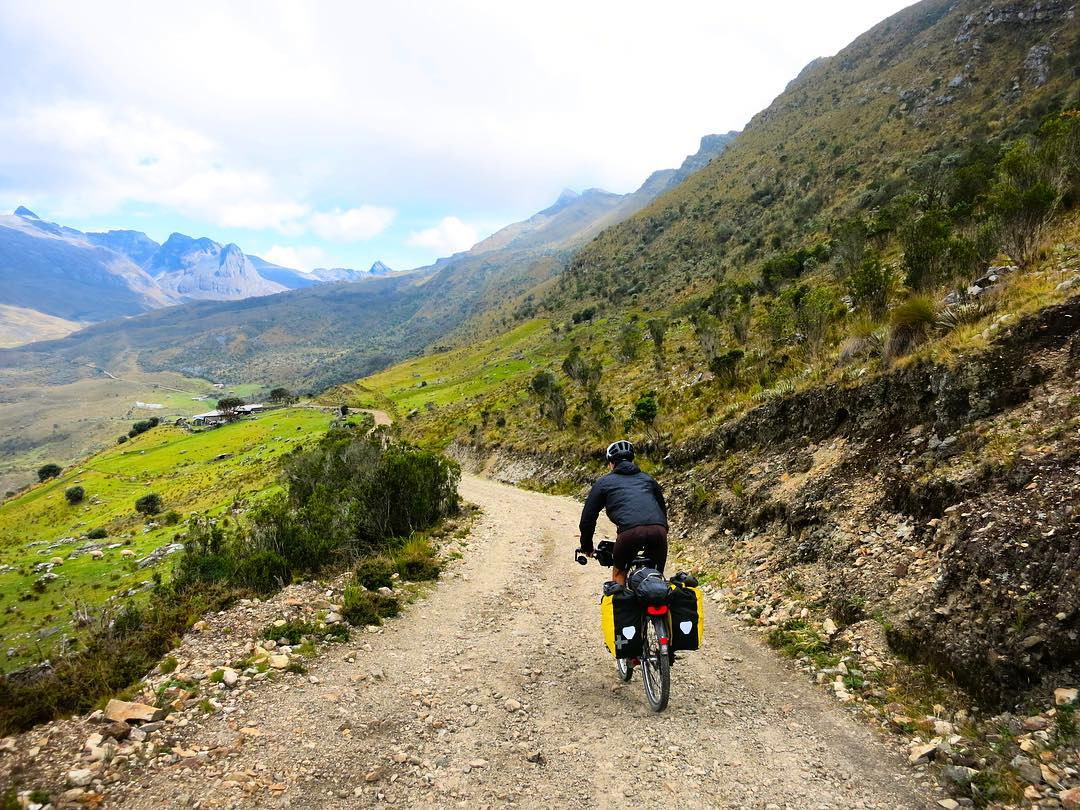 #tbt to when Lucy Buchanan-Parker and Alberto Contreras Sanz rode their bikes across South America while documenting roadkill for our #ASCRoadkill project. Here's Alberto climbing towards the beautiful Sierra Nevada del Cocuy in Colombia. . Are you...