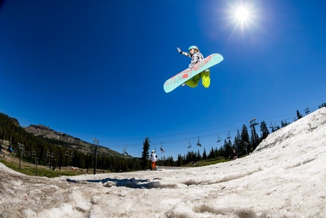 Catchin' air, feelin' free. Grab a board on our website {www.coalitionsnow.com} and get out there!