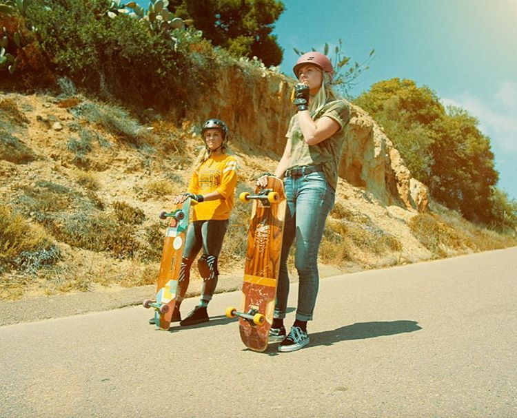 As you know we've teamed-up with @spikeTV to shoot an ad in California. @amandapowellskate and @pandaskate were the chosen ones to represent LGC values, message & of course, radness! Go to longboardgirlscrew.com to check out the interview we did with...
