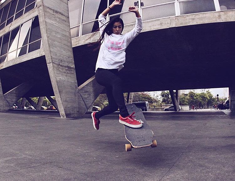 The always rad @sarawfc from LGC Brasil!