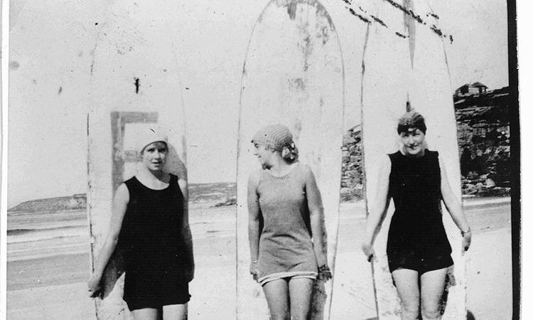 Isabel Letham and friends. Some of the first female Surfer's in Australia. Tag your surf squad! #praise #seeababes #myseealife