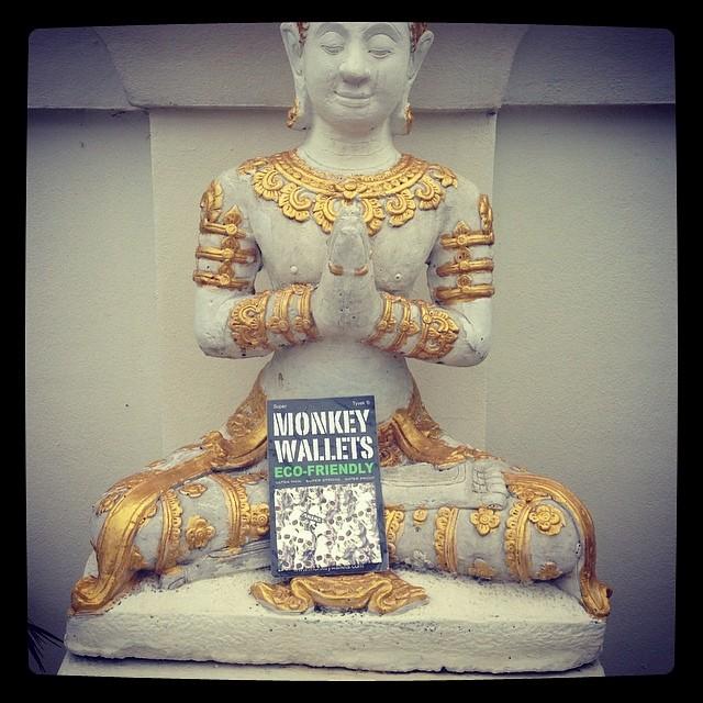 #monkeywallets #thailand #2014 #ecofriendly @monkeywallets #fashion
