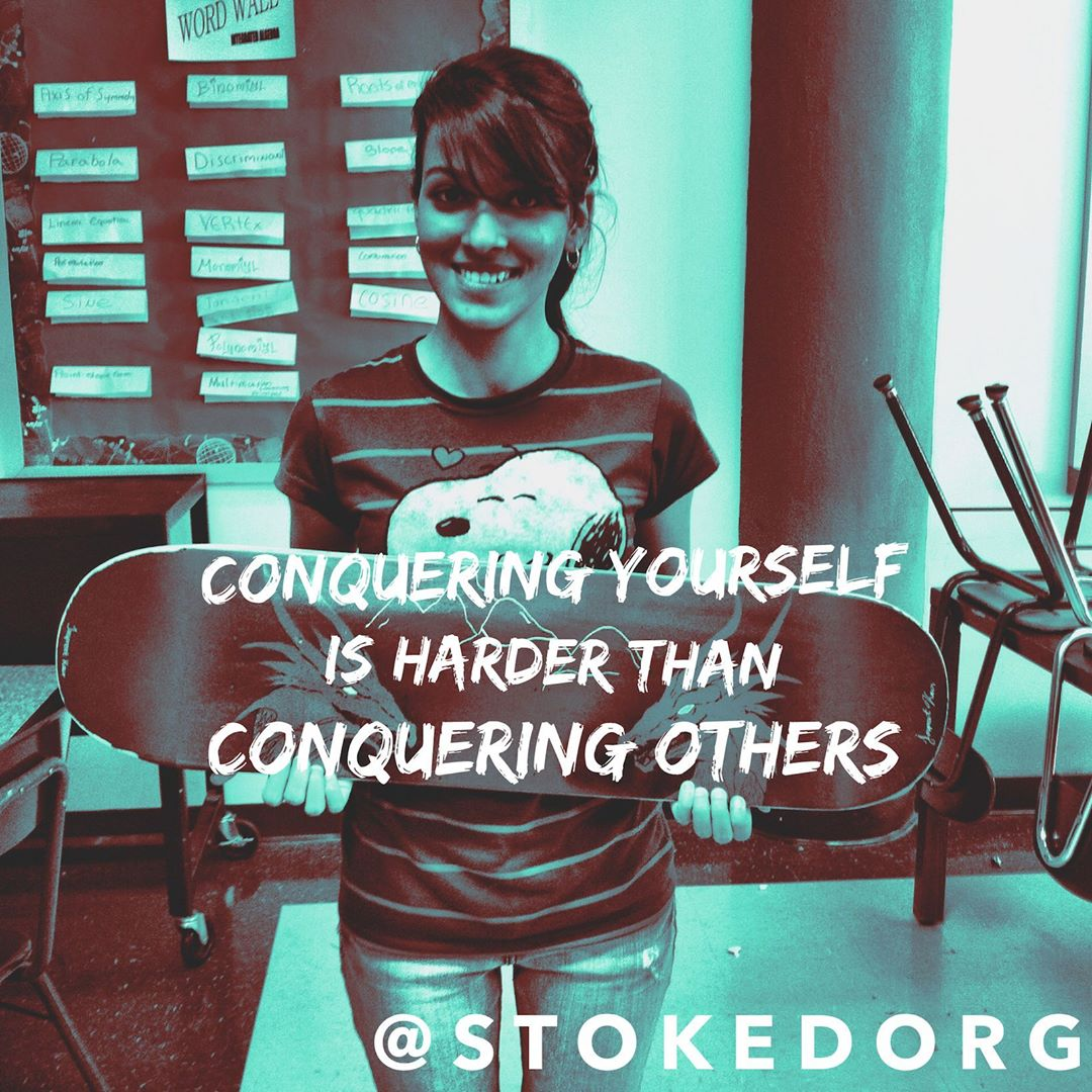 Conquering yourself is harder than conquering others