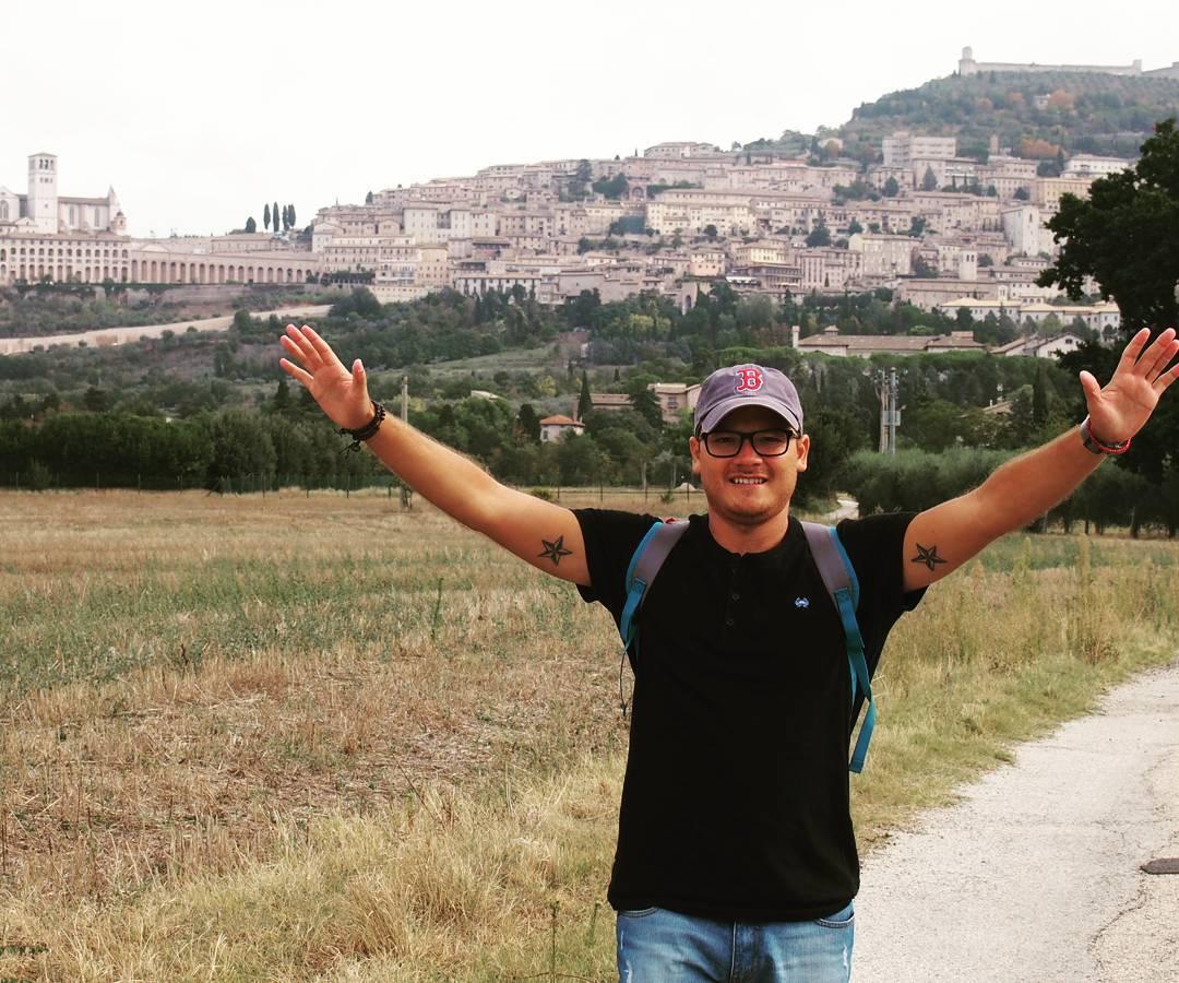 Pueblo único #asis #roma #italy