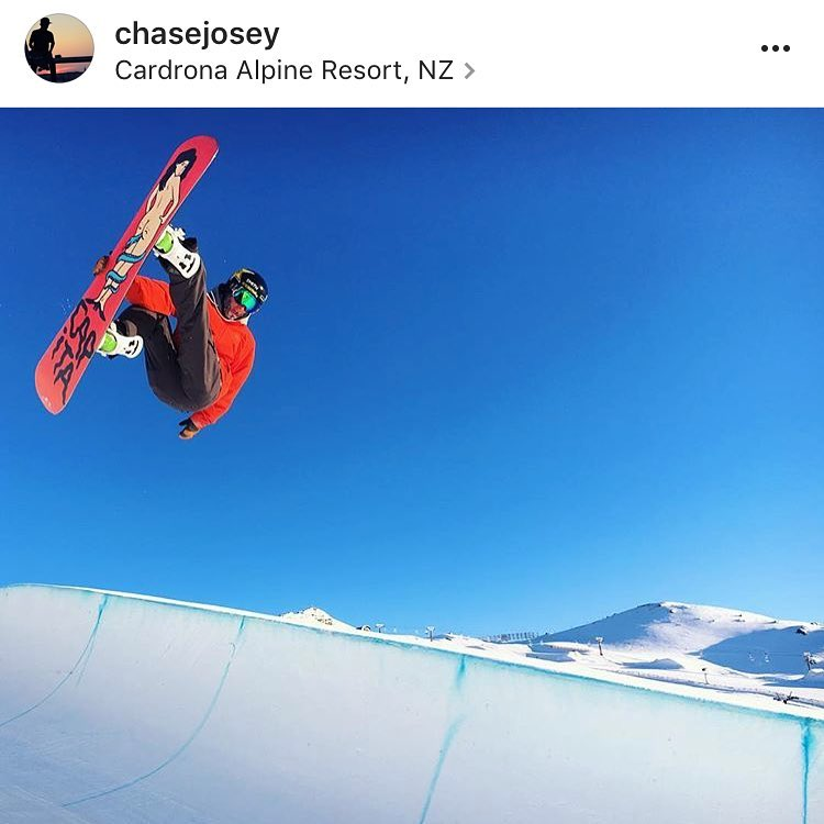 #A7Renegade @chasejosey blasting in the pipe in NZ yesterday, or wait, today? Dang international datelines are confusing. Photo by @cztommy #avalon7 #neverstopprogressing #snowboarding www.a-7.co