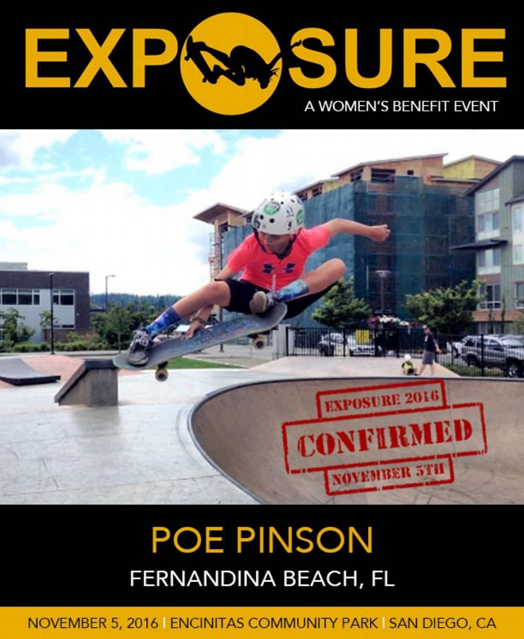 @poepinson will be showing us her super raw talent in the 14 & Under Street and Bowl competition!!