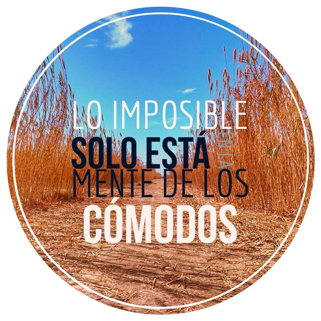 the impossible is only in the mind of comfortable