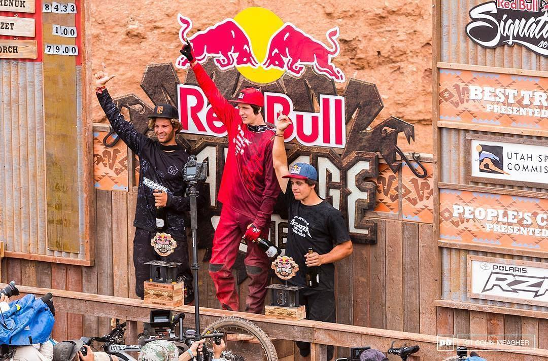 Super big congrats out to @antoinebizet for seizing 2nd place at this year's #RedbullRampage