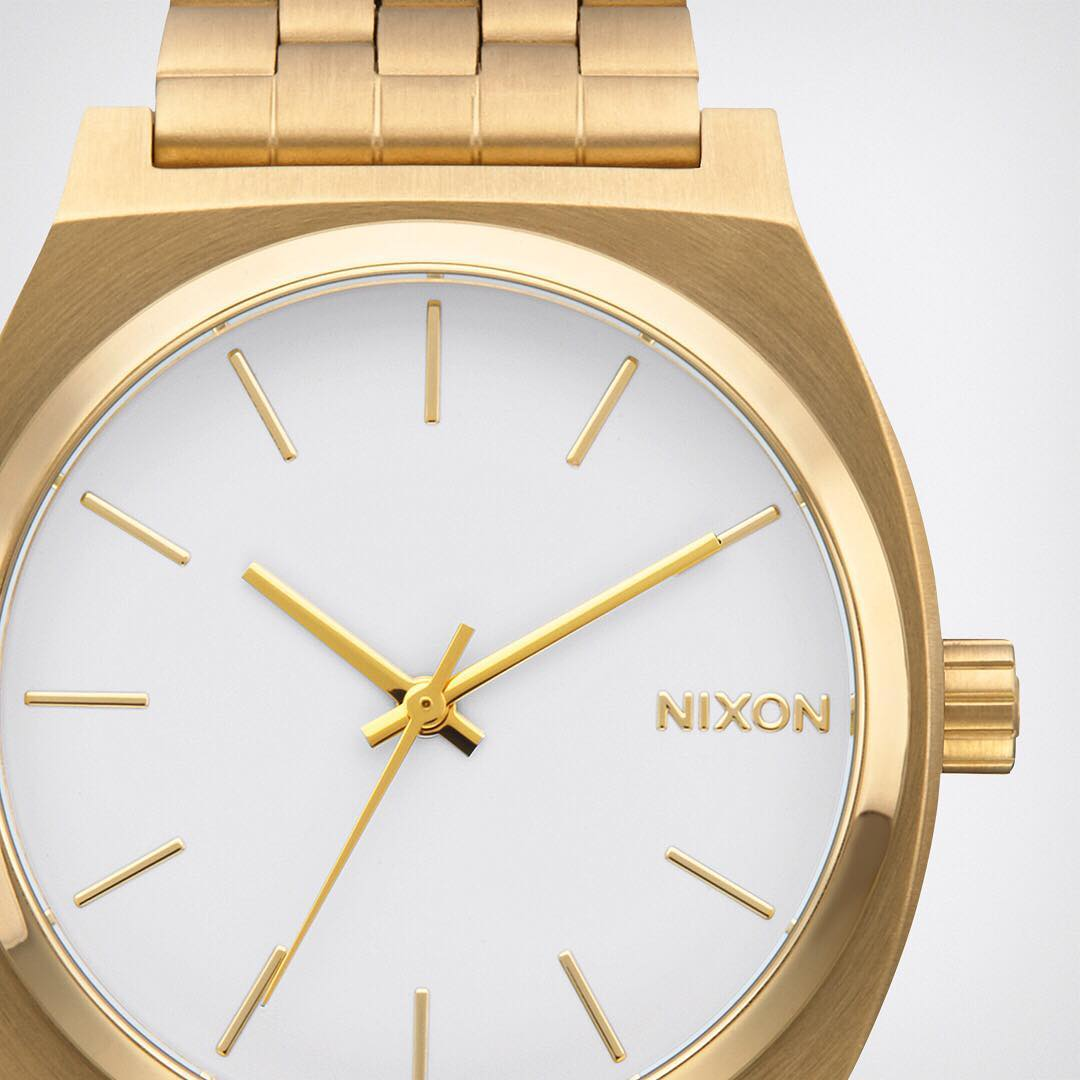 An original Nixon design. The #TimeTeller is a tried and true crowd favorite.