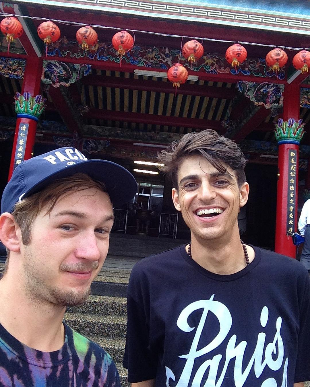 The boys made it to Taiwan! Levi Green (@levipurple) and Ari Chamasmany (@ari_shark ) each took a quick 13 hour flight out to Taipei for the #taiwanlongboardfestival! It's going to be a wild ride on the other side of the globe for these guys....