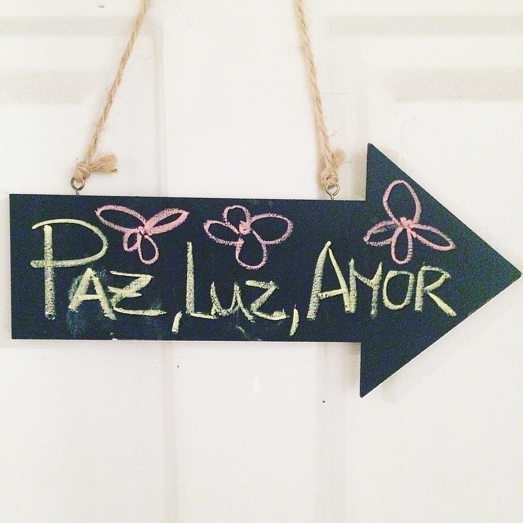 Por siempre en nuestras vidas y en el mundo! #Paz #Luz #Amor