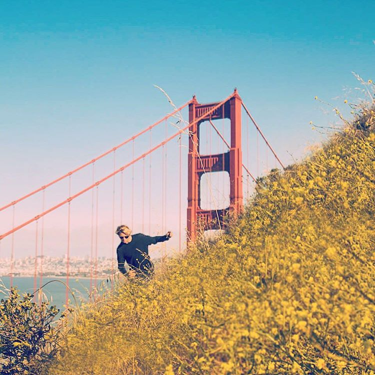 Our Ambassador @captain_potter finding adventures in San Francisco - where will your Saturday take you? #NatureOfProof