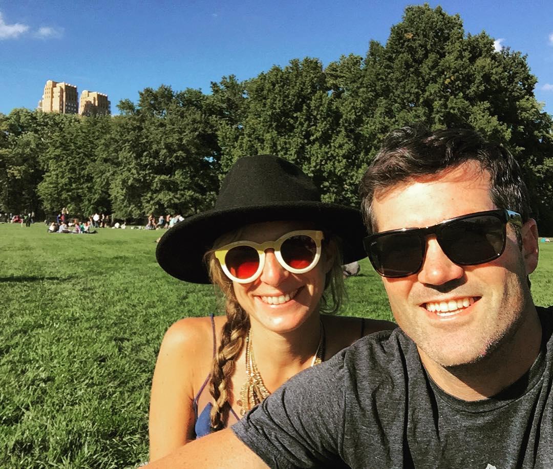 Grazing #sheepsmeadow #nyc #centralpark #fiance