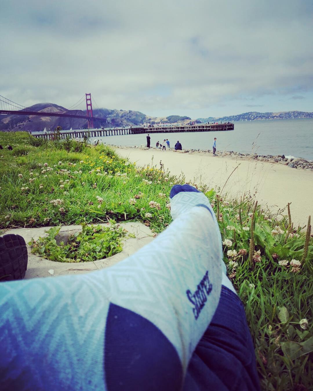 Bicicleteada x San Francisco con nuestras #MediasConOnda